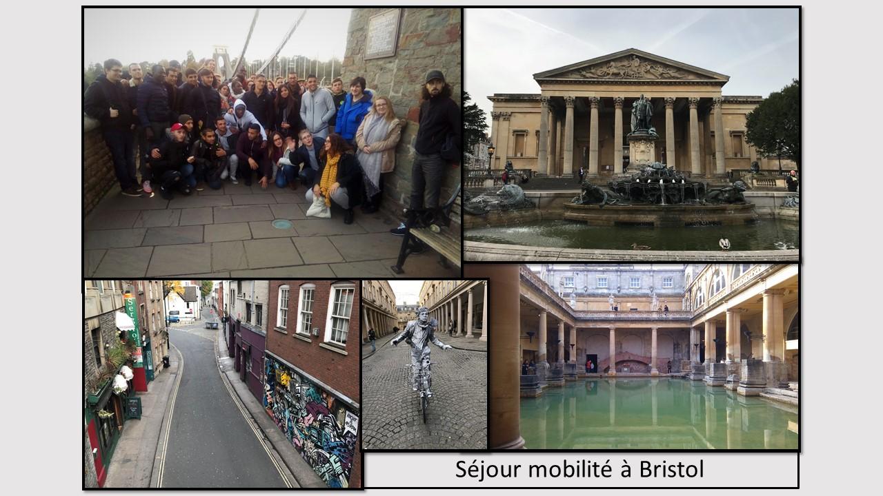 Séjour mobilité à Bristol